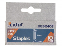 Klinèeky 10mm, 1000ks, 2,0x0,52x1,2mm EXTOL