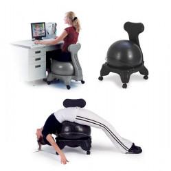 Balanèná stolièka s gymnastickým loptou - SEDCO FIT CHAIR