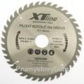 350x30 mm Pílový kotúè 40 zubov XTline