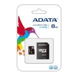 Pamäťová karta A-DATA 8GB MicroSDHC Class 10