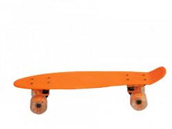PENNYBOARD SUPER Skateboard 56x15cm oranžový