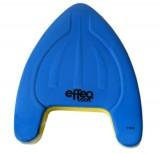 Plavecká doska EFFEA 2639, 40x27cm modrá / žltá