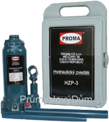 Hydraulický zdvihák 3 tony HZP-3 + kufrík