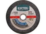 Rezný kotúè 115x1mm EXTOL INDUSTRIAL ocel/nerez 8701002