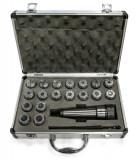Klieštinový upínaè MK2 / M10 / ER32 + klieštiny 3-20mm OPTIMUM