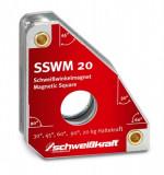 Magnetický uholník 140x111mm 20kg SSWM 20