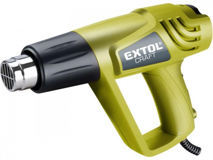 EXTOL CRAFT 411023 Pištoľ teplovzdušná v kufri 2000/1000W, 550/350°C