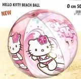 Lopta plážová HELLO KITTY priem. 50cm