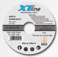 Rezný kotúè 115x1mm XTline na nerez