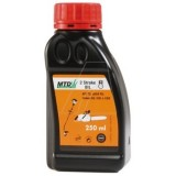Motorový olej pre 2 taktné motory MTD 250 ml