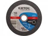 Rezný kotúè 115x0,8mm EXTOL PREMIUM ocel/nerez 8808150