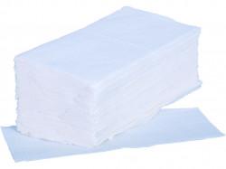 Papierové uteráky ZIK-ZAK, biele
