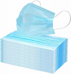 Rúška hygienická 3-vrstvová triedy FFP2 50ks