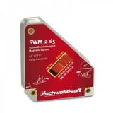Vypínatelný magnetický uholník 152x135mm 75kg SWM-2 65