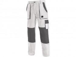 Pracovné nohavice CXS LUXY JOSEF bielo-šedé