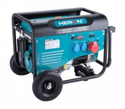 HERON 8896412 elektrocentrála benzínová 13HP/6,0kW (400V), 2x2,2kW (230V)