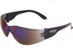 Okuliare ochranné modré EXTOL 97322