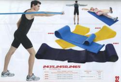 Aerobic guma dvojitá 104x15cm tl. 0,50mm, modrá