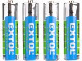 Baterie zink-chloridové 1,5V AAA (R03) 4ks