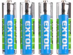 Batérie zink-chloridové 1,5V AAA (R03) 4ks