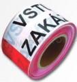 Výstražná páska VSTUP ZAKÁZÁN 250m