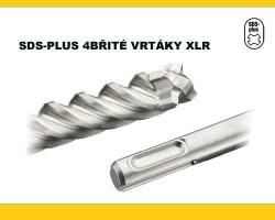 10x160 SDS Plus vrták 4-brity XLR DeWALT