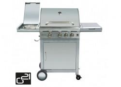 CALIFORNIA BBQ plynový gril + redukèný ventil, hadica, PLACHTA