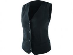 Dámska vesta pre servírky, èierna