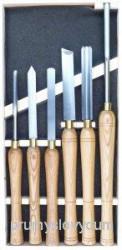 Dláta PROMA HDB-65 k sústruhu na drevo 6ks