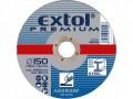 Rezný kotúè 125x6,0 EXTOL PREMIUM ocel