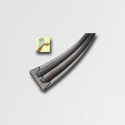 Tesnenie E 9x4mm 6m hnedé PL STOMIL 9113