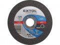 Rezný kotúè 125x1,6 EXTOL PREMIUM ocel/nerez