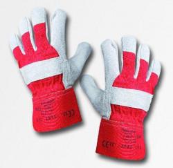 Pracovné rukavice Eider Red - PREDAJ PO 12 pároch
