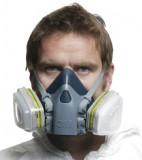 Ochranná maska 3M 7502 stredná