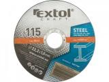 Rezný kotúè 125x1 5ks EXTOL CRAFT ocel