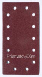Brúsny list 115x230mm suchý zips 14 dier zrn. 40
