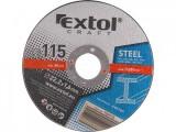 Rezný kotúè 125x1,6, 5ks EXTOL CRAFT ocel