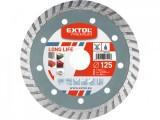 125mm Diamantový kotúè turbo DLHÁ ŽIVOTNOS� EXTOL