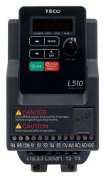 Frekvenèný meniè 0,4kW TECO L510-2P5-SH1F-P 1x230V