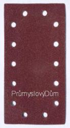 Brúsny list 115x230mm suchý zips 14 dier zrn. 100