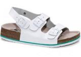Obuv CORK MEGI biely pánsky sandál