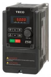 Frekvenèný meniè 0,75kW TECO E510-201-H1F 1x230V