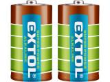 EXTOL ENERGY batérie alkalické 1,5V LR14/C 2ks