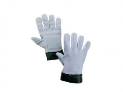 Antivibraèné rukavice TEMA celokožené ve¾. 10