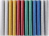 11x100 mm 12ks Lepiace tavné tyèinky MIX barev s leskom