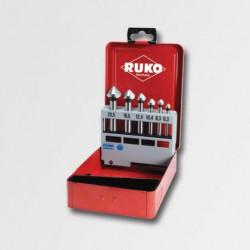 Sada záhlbníkov RUKO 6,3-20,5mm 6 dielov RU102152