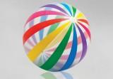 Plážová lopta nafuk. farebná, priem. 107cm