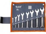 6-22mm EXTOL PREMIUM 6119 k¾úèe ploché 8ks