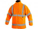 Fleecová bunda oranžová PRESTON