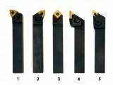 Sústružnícke nože HM 20 mm sada 5 ks